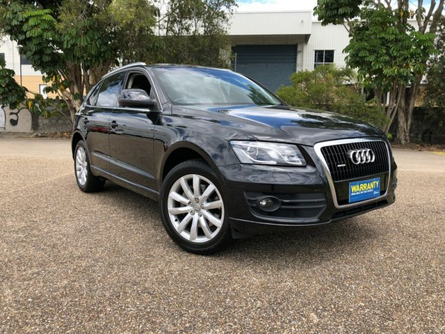 Used Audi Q5 8R MY10 FSI S tronic quattro, 2010 Audi Q5 8R MY10 FSI S tronic quattro Black 7 Speed Sports Automatic Dual Clutch Wagon
