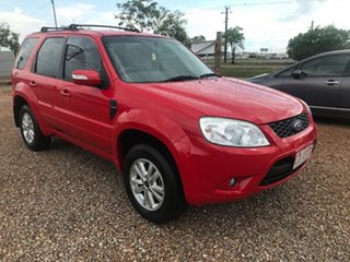2010 Ford Escape ZD MY10 Red 4 Speed Automatic Wagon