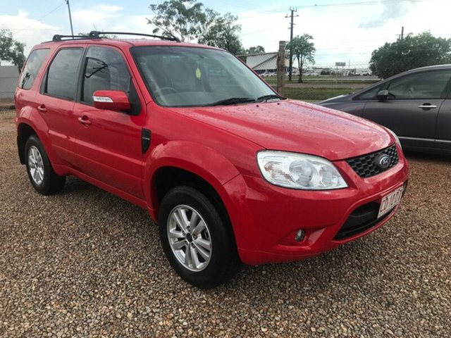 Used Ford Escape ZD MY10 , 2010 Ford Escape ZD MY10 Red 4 Speed Automatic Wagon