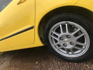 2007 Mitsubishi Lancer CH MY07 ES Yellow 5 Speed Manual Sedan