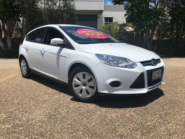 Used Ford Focus LW MKII Ambiente PwrShift, 2013 Ford Focus LW MKII Ambiente PwrShift White 6 Speed Sports Automatic Dual Clutch Hatchback