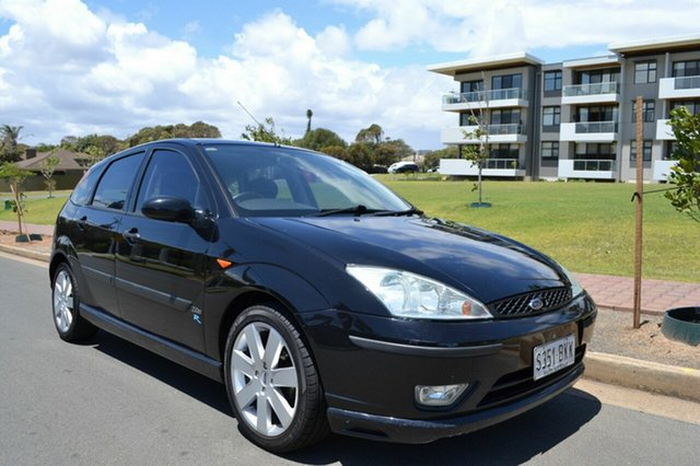 Used Ford Focus LR MY2003 Zetec, 2004 Ford Focus LR MY2003 Zetec Black 4 Speed Automatic Hatchback