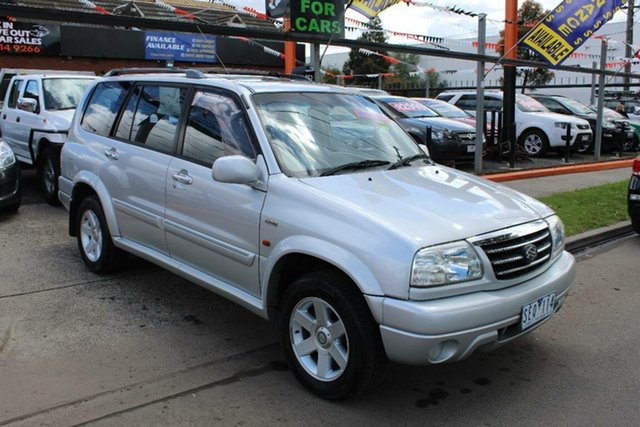 Used Suzuki Grand Vitara  Freestyle (4x4), 2003 Suzuki Grand Vitara Freestyle (4x4) Silver 4 Speed Automatic Wagon