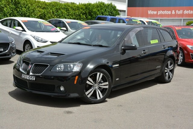 Used Holden Commodore VE MY10 SS V Sportwagon Special Edition, 2009 Holden Commodore VE MY10 SS V Sportwagon Special Edition Black 6 Speed Manual Wagon