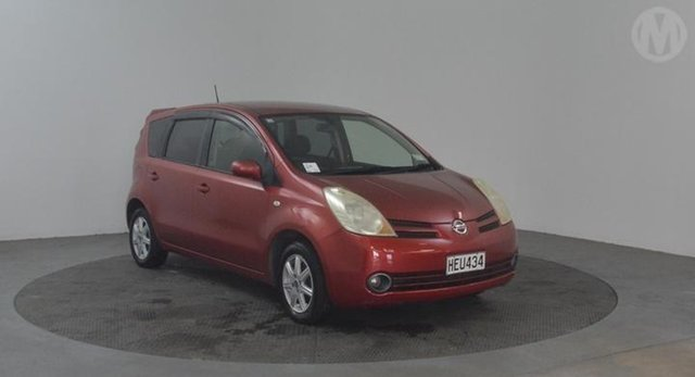 Used Nissan Note  , 2007 Nissan Note Red 4 Speed Automatic Hatchback