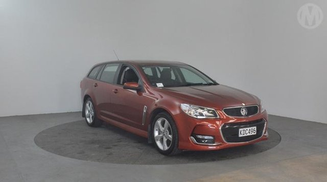 Used Holden Commodore  , 2016 Holden Commodore VF2 SV6 Red 6 Speed 6spd Tiptronic Wagon