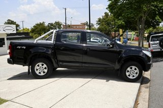 2015 Holden Colorado RG MY16 LS-X Crew Cab Black 6 Speed Sports Automatic Utility.