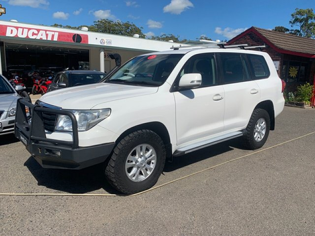 Used Toyota Landcruiser  , 2012 Toyota Landcruiser 200 V8 TWIN TURBO GXL White 6 Speed Automatic Wagon