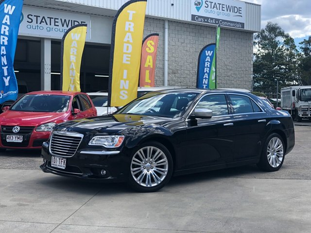 Used Chrysler 300 LX MY13 C Luxury, 2012 Chrysler 300 LX MY13 C Luxury Black 5 Speed Sports Automatic Sedan