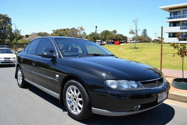 Used Holden Calais VX II , 2002 Holden Calais VX II Black 4 Speed Automatic Sedan