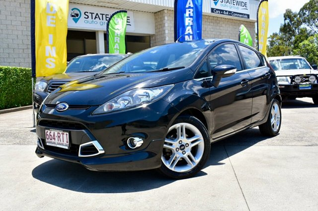 Used Ford Fiesta WT Zetec PwrShift, 2011 Ford Fiesta WT Zetec PwrShift Black 6 Speed Sports Automatic Dual Clutch Hatchback