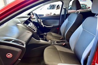 2012 Ford Focus LW MKII Trend PwrShift Maroon 6 Speed Sports Automatic Dual Clutch Hatchback.