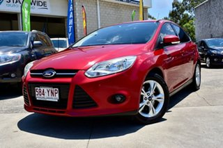2012 Ford Focus LW MKII Trend PwrShift Maroon 6 Speed Sports Automatic Dual Clutch Hatchback