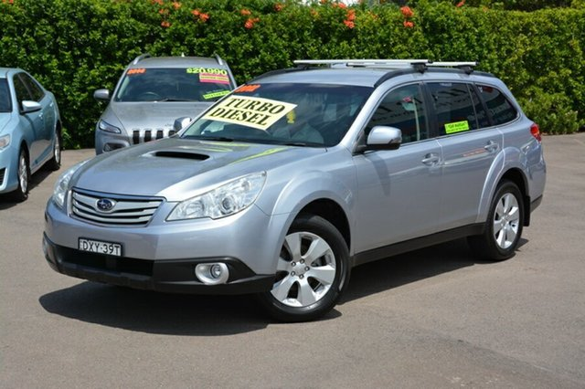 Used Subaru Outback B5A MY12 2.0D AWD, 2012 Subaru Outback B5A MY12 2.0D AWD Silver 6 Speed Manual Wagon