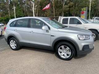 2016 Holden Captiva 7 LS 7 SEATER Silver 6 Speed Automatic Wagon.