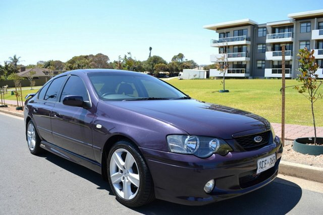 Used Ford Falcon BA XR6, 2004 Ford Falcon BA XR6 Purple 4 Speed Sports Automatic Sedan