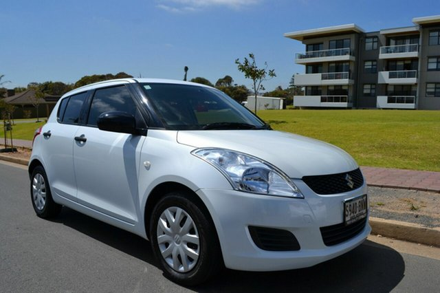 Used Suzuki Swift FZ GA, 2011 Suzuki Swift FZ GA White 5 Speed Manual Hatchback