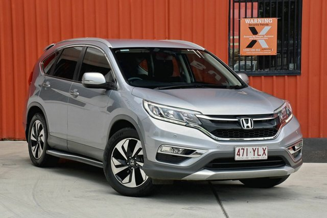 Used Honda CR-V RM Series II MY17 Limited Edition 4WD, 2016 Honda CR-V RM Series II MY17 Limited Edition 4WD Silver 5 Speed Sports Automatic Wagon