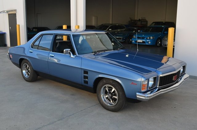 Used Holden Monaro HJ GTS, 1974 Holden Monaro HJ GTS Blue 4 Speed Manual Sedan
