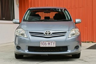 2009 Toyota Corolla ZRE152R MY10 Ascent Grey 6 Speed Manual Hatchback.