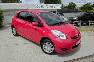 2010 Toyota Yaris NCP90R MY10 YR Pink 4 Speed Automatic Hatchback.