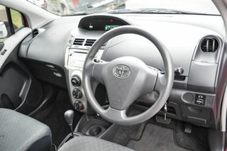 2010 Toyota Yaris NCP90R MY10 YR Pink 4 Speed Automatic Hatchback