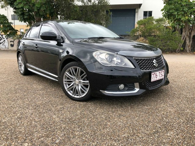 Used Suzuki Kizashi FR MY11 Sport AWD, 2011 Suzuki Kizashi FR MY11 Sport AWD Black 6 Speed Constant Variable Sedan