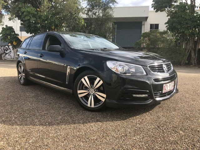 Used Holden Commodore VF MY14 SS Sportwagon, 2013 Holden Commodore VF MY14 SS Sportwagon Black 6 Speed Sports Automatic Wagon