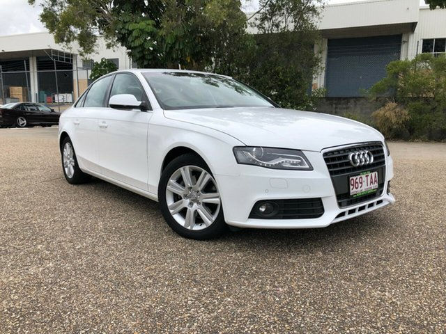 Used Audi A4 B8 8K MY10 Multitronic, 2010 Audi A4 B8 8K MY10 Multitronic White 8 Speed Constant Variable Sedan