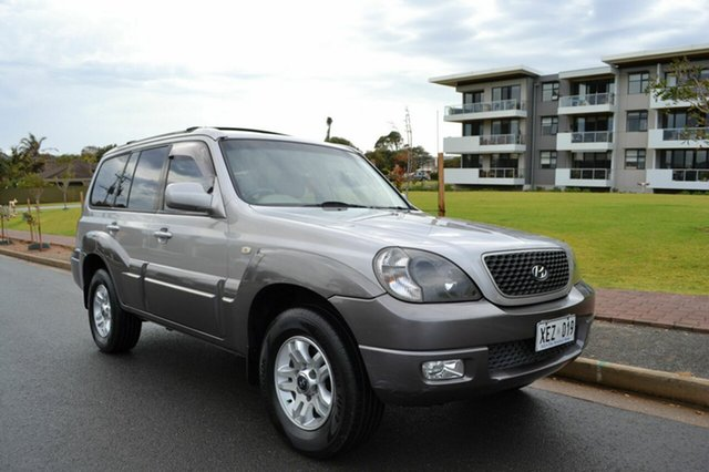 Used Hyundai Terracan HP MY04 , 2004 Hyundai Terracan HP MY04 Silver 4 Speed Automatic Wagon