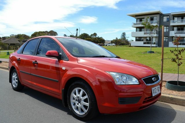 Used Ford Focus LS CL, 2006 Ford Focus LS CL Red 4 Speed Sports Automatic Hatchback