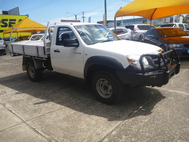Used Mazda BT-50 UNY0E4 DX, 2009 Mazda BT-50 UNY0E4 DX White 5 Speed Manual Cab Chassis