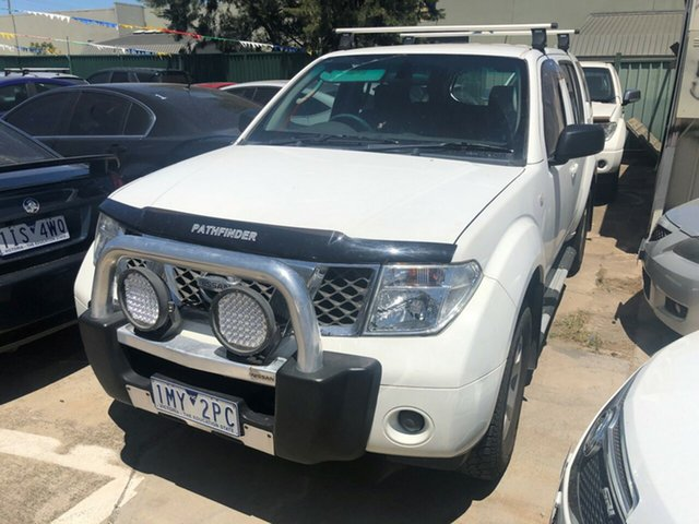 Used Nissan Pathfinder R51 ST (4x4), 2005 Nissan Pathfinder R51 ST (4x4) White 5 Speed Automatic Wagon