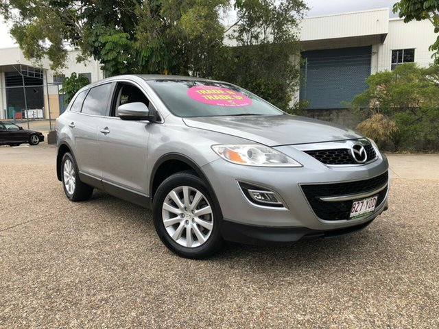 Used Mazda CX-9 TB10A3 MY10 Classic, 2009 Mazda CX-9 TB10A3 MY10 Classic Silver 6 Speed Sports Automatic Wagon