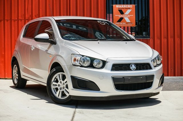 Used Holden Barina TM MY13 CD, 2013 Holden Barina TM MY13 CD Silver 6 Speed Automatic Hatchback