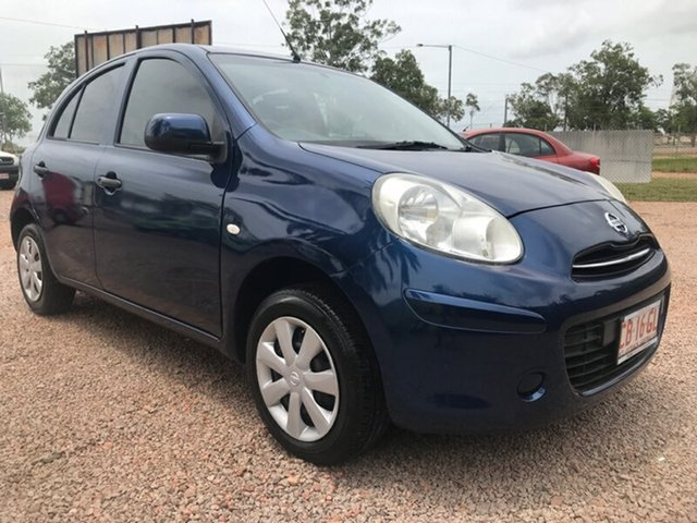 Used Nissan Micra K13 MY13 ST, 2013 Nissan Micra K13 MY13 ST Blue 4 Speed Automatic Hatchback