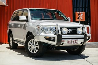 2009 Toyota Landcruiser VDJ200R MY10 GXL Silver 6 Speed Sports Automatic Wagon.