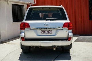 2012 Toyota Landcruiser VDJ200R MY10 GXL Silver 6 Speed Sports Automatic Wagon.