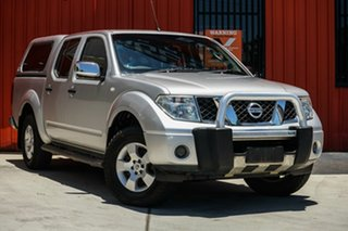 2007 Nissan Navara D40 ST-X Silver 6 Speed Manual Utility.