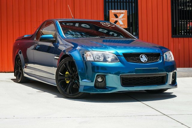 Used Holden Ute VE II MY12 SS, 2012 Holden Ute VE II MY12 SS Green 6 Speed Manual Utility