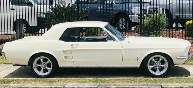 Used Ford Mustang  , 1967 Ford Mustang White 3 Speed Automatic Hardtop