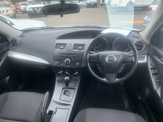 2012 Mazda 3 BL 11 Auto White 6 Speed Automatic Sedan.