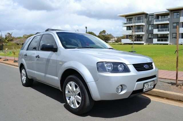 Used Ford Territory SY TX, 2009 Ford Territory SY TX Silver 4 Speed Sports Automatic Wagon