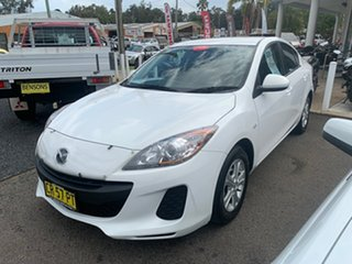 2012 Mazda 3 BL 11 Auto White 6 Speed Automatic Sedan
