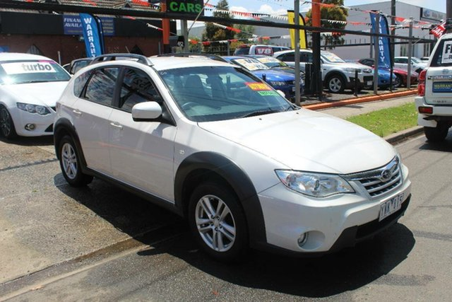 Used Subaru Impreza MY11 XV (AWD), 2011 Subaru Impreza MY11 XV (AWD) White 4 Speed Automatic Hatchback