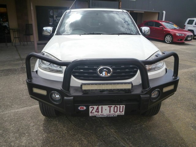 Used Great Wall V200 K2 MY14 , 2014 Great Wall V200 K2 MY14 White 6 Speed Manual Utility