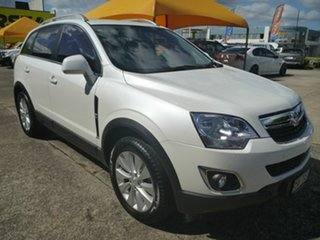 2015 Holden Captiva CG MY15 5 LT White 6 Speed Sports Automatic Wagon.