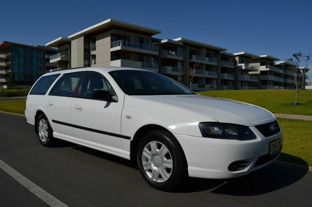 Used Ford Falcon BF Mk III XT, 2009 Ford Falcon BF Mk III XT White 4 Speed Sports Automatic Wagon