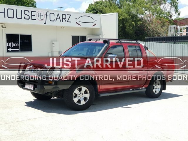 Used Nissan Navara D40 ST-X, 2009 Nissan Navara D40 ST-X Red 5 Speed Automatic Utility