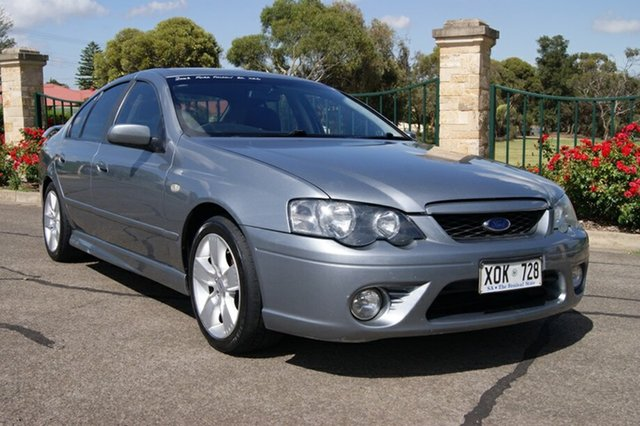 Used Ford Falcon BF MkII XR6, 2006 Ford Falcon BF MkII XR6 Silver 4 Speed Auto Seq Sportshift Sedan